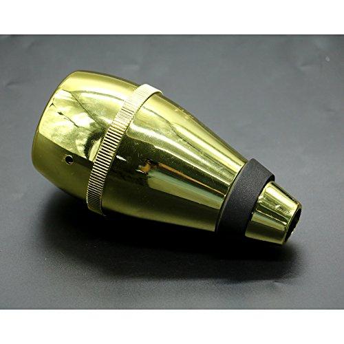 IDS Trumpet Mute for Practice, Trumpet Mute Silencer, Golden IDS RL 4334214401