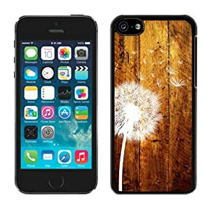 iPhone 5C Dandelion Black Screen Phone Case DIY and Fshion Design
