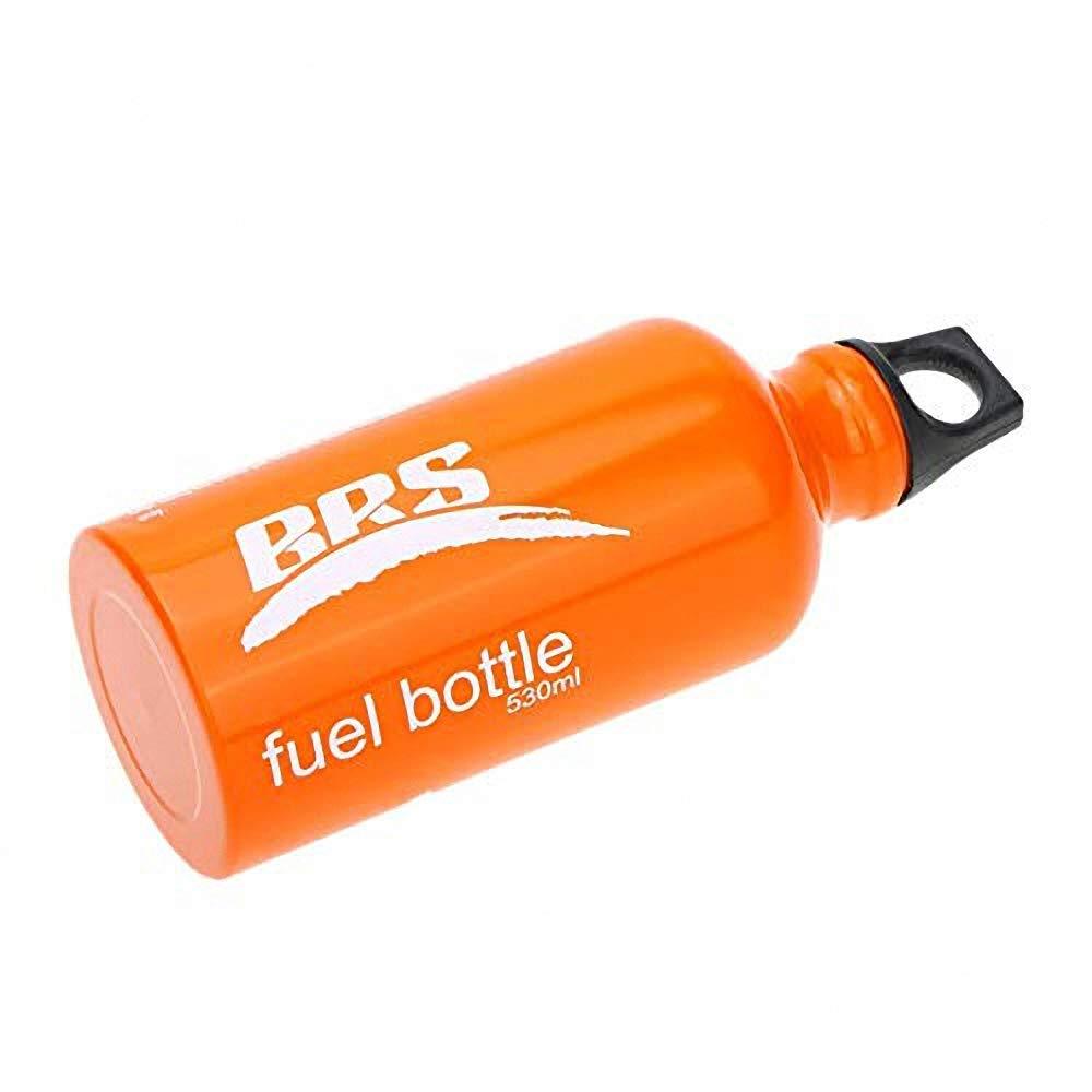 0.75L para el Envase de la Seguridad del L/íquido del Alcohol de la Gasolina Que Acampa Botella de Combustible de 0.53L