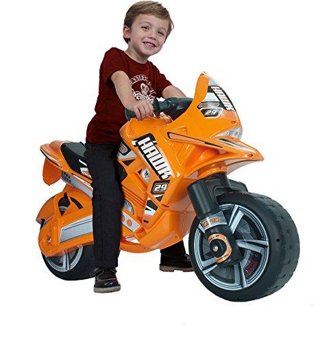INJUSA – Moto correpasillos Hawk para niños de más de 3 años, Rojo