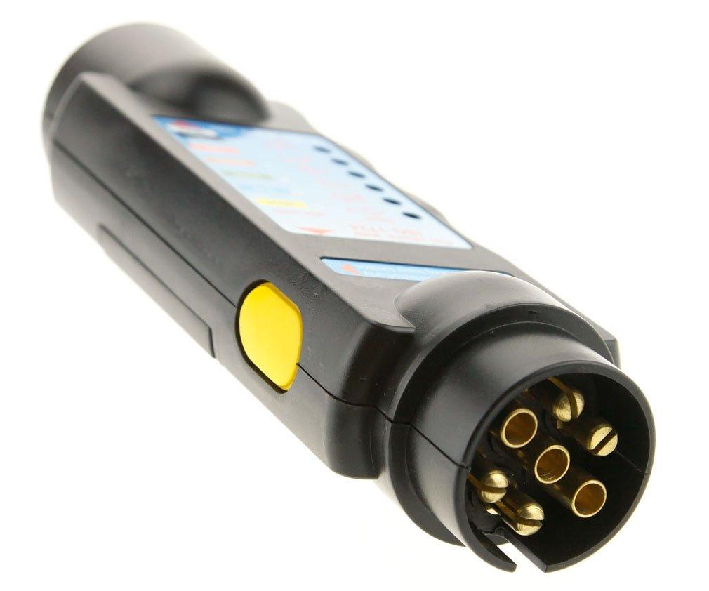 7 Pin Towing Trailer Tow Bar Caravan Light Wiring Circuit Tester Homemade Diagram Plug Socket Car Motorbike