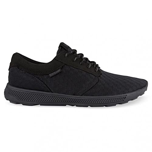 Supra Hammer Run Lightweight Trainer Shoes All Black Grey Size Men s US 7.5 b48fcbbd72