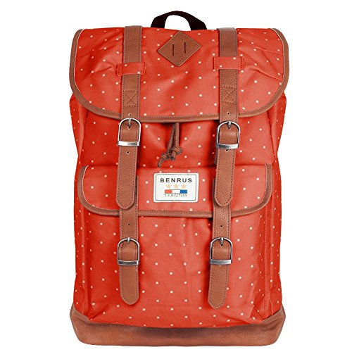 Benrus Unisex Scout Star Backpack Red, One Size