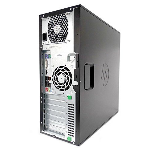 HP Desktop Z220 Workstation Tower - Intel Core i7 up to 3.9GHz, 16GB RAM, 480GB SSD, Windows 10 Pro (Renewed)