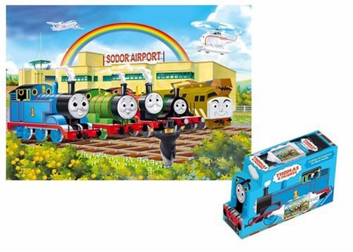 Engines Thomas Floor Puzzle - Thomas & Friends: Calling All Engines - 24 Piece Floor Puzzle in a Shaped Box