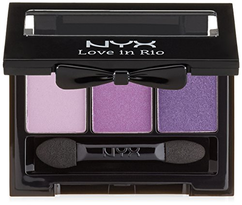 NYX Professional Makeup Love in Rio Eyeshadow Palette, Life