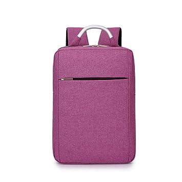 Trabajo ligero de la mochila del ordenador portátil del vendedor de la empresa ligera que camina el bolso de los deportes (Color : Púrpura) : Amazon.es: ...