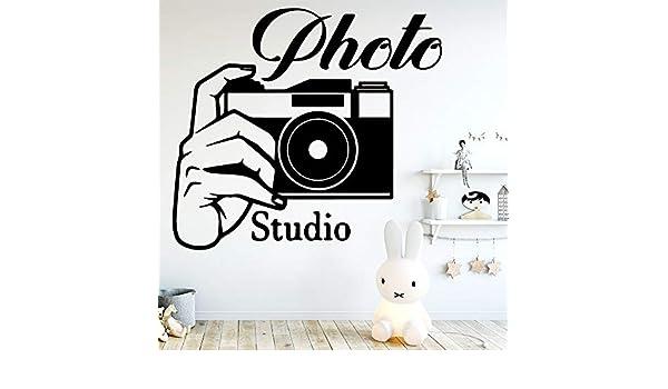 YuanMinglu Pegatinas de Pared Creativas para Estudio fotográfico, Dormitorio Decorativo, Estudio fotográfico, decoración para el hogar, murales con Apliques Que se Pueden Mover 30x33 cm: Amazon.es: Hogar