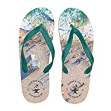 Hammer Anvil Men's Flip-Flops Summer Sandals Navy US 10