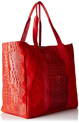 Donna Chicca Mano L a Rosso x 80043 Borse W Borsa 62x36x21 cm x H xXrSXanqwf