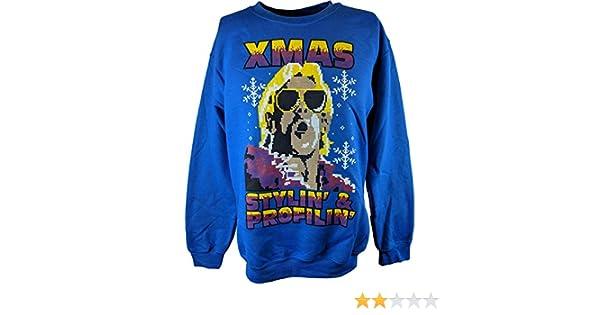 Amazoncom Ric Flair Blue Ugly Stylin Profylin Christmas Xmas Mens