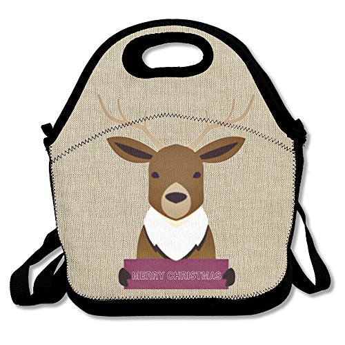 Deer Insulated Lunch Bag Lunch Bag Large Reusable Lunch Tote Bags Fashion Designer Lunch Box For Work, Office, School Or - Bag Versace School