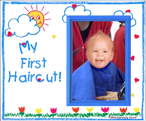 My First Haircut! - Picture Frame Gift