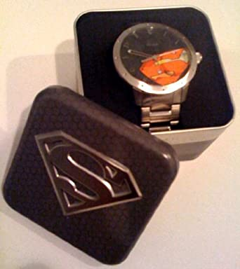 Fossil special edition superman charcoal grey dial mens watch fossil special edition superman charcoal grey dial mens watch ll1053 freerunsca Choice Image