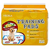 VECELA Pet Training Pads with Guided Circle Printing Regular Heavy Duty 24 x 24-100Count Larger Image