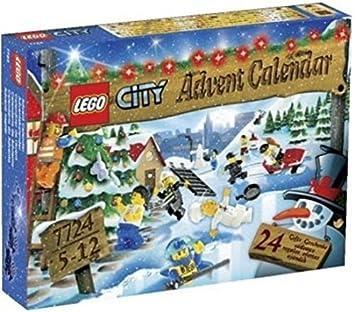 Calendrier Avent Lego City.Lego 7724 Jeu De Construction Lego City Le