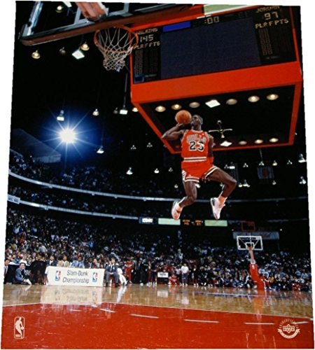 Michael Jordan Unsigned 8x10 Gatorade Slam Dunk UDA Upper Deck Bulls Brand New