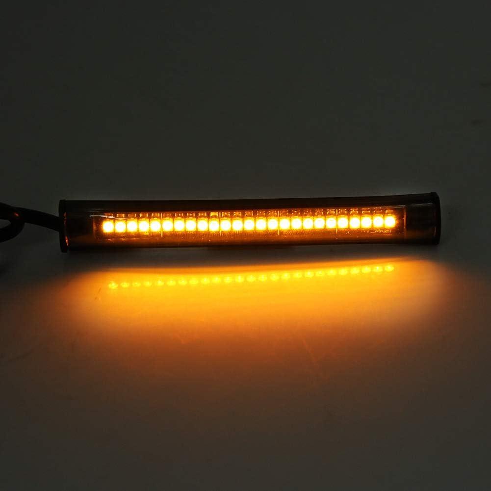 KIMISS LED-Blinker f/ür Kfz-Kennzeichen mit Blinker f/ür LED-Taschenlampen