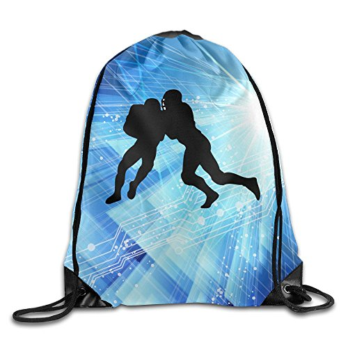 2018 I Just Really Like Wolf Football Drawstring Bags Mountain Backpack For Teens College