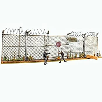 McFarlane Toys The Walking Dead AMC TV Series Prison Gate  Fence Building Set