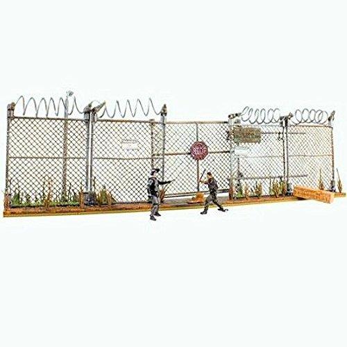 McFarlane Toys The Walking Dead AMC TV Series Prison Gate & Fence Building Set #14556 192 pcs