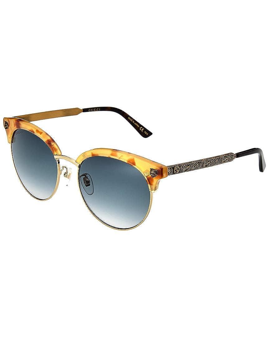 f9e95203d1e Amazon.com  Gucci Womens Women s Gg0222sk-30001798003 56Mm Sunglasses   Clothing