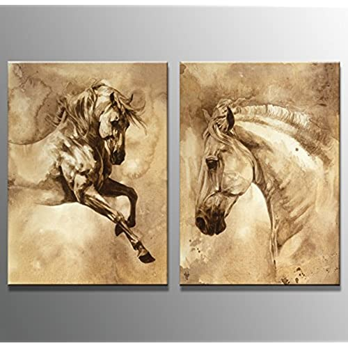 Charmant Youkuart Hq0016 Canvas Wall Art Horse Art Prints Pictures Foal Posters Home  Decor Interiors