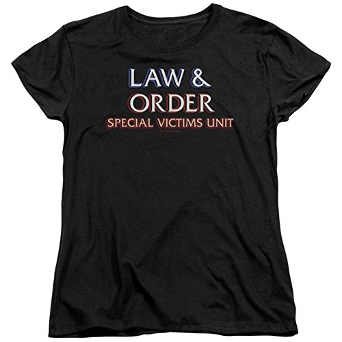Womens: Law & Order: SVU - Logo Ladies T-Shirt Size L (Law And Order Svu October Surprise Ending)