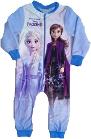 Peter Rabbit Girls Fleece All In One Kids Character Sleepsuit Pyjamas PJs Size