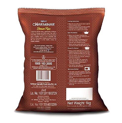 Kohinoor Charminar Brown Rice, 1kg
