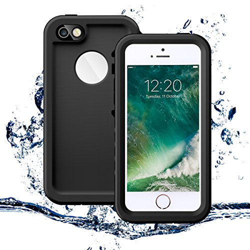 Waterproof Shockproof Dirt Proof Cover for iPhone SE/5S/5 (Black) - 8