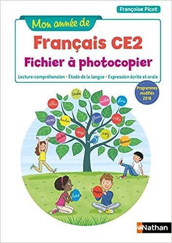 livre pdf gratuit télécharger Mon année de Français CE2 - 2019