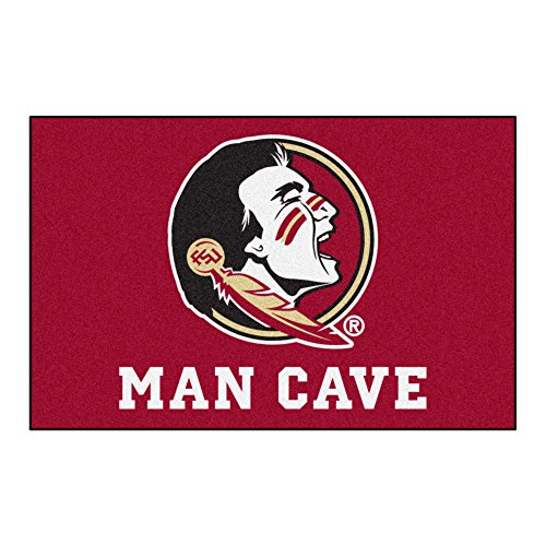 FANMATS 14544 Florida State University Nylon Universal Man Cave Starter Rug