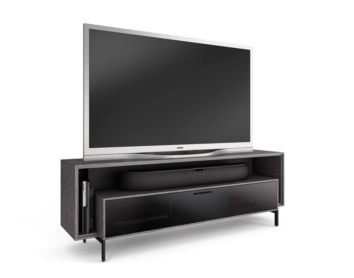 BDI Cavo Triple-Wide TV Stand Media Cabinet, Graphite