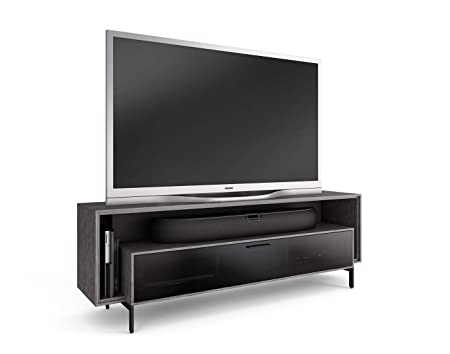 BDI 8167 GRA Cavo Triple-Wide TV Stand Media Cabinet, Graphite