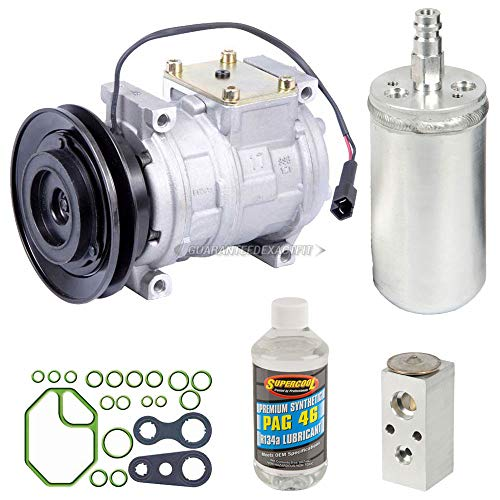 AC Compressor w/A/C Repair Kit For Dodge Neon Plymouth Neon 1997 1998 1999 - BuyAutoParts 60-80404RK New ()
