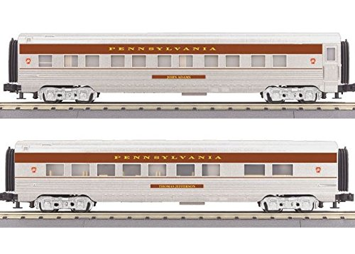 MTH MTH3067902 O-27 60' Streamlined Sleeper/Diner, PRR 60' Sleeper
