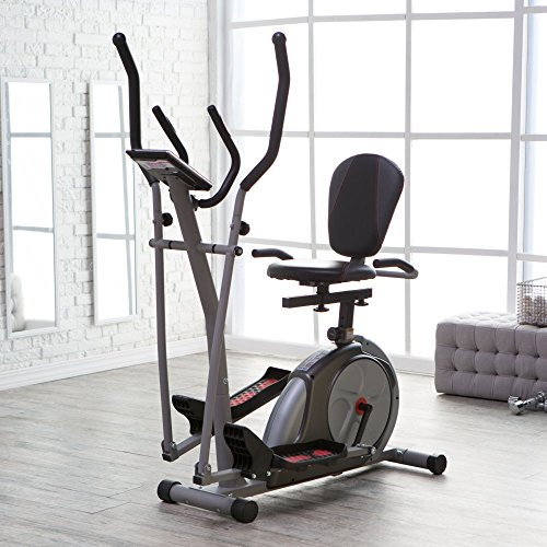 Body Rider 3-in-1 Trio-Trainer, Silver/ (Flex Rider Body)