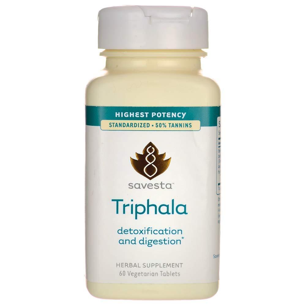 Triphala Detoxification and Digestion 60 Veg Tabs