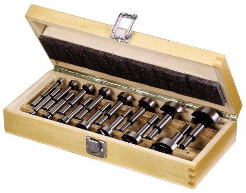 Forstnerbohrersatz 15-teilig im Holzkasten - nach DIN 7483G Cut360