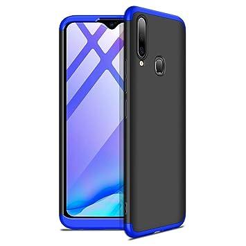 Designerz Hub Vivo Y17 Vivo Y15 Vivo Y12 Cover Case Ull Body 3 In 1 Slim Fit Complete 3d 360 Degree Protection Hard Bumper Back Case Cover For