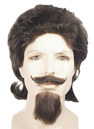 Buffalo Bill Costumes (Buffalo Bill Cody Wig Mustache Goatee Set Champ Blonde)