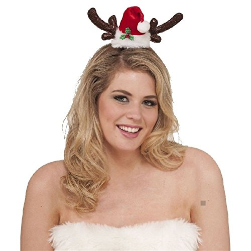 Reindeer Headband Antlers Female Christmas (Female Leatherface Costume)