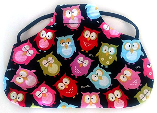 Reversible Standard Size Chicken Saddle Hen Apron Owl, used for sale  Delivered anywhere in USA