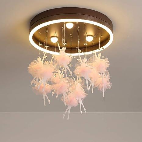 Schön-Lampe Luz de Techo LED Ballet Girl Diseño Colgante ...