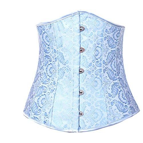 Corsetto corto corto donna corsetto di allenamento pesante per la perdita di peso