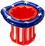 Beistle 57893 inflatable Patriotic Hat Cooler, 27 by 18-Inch
