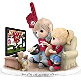Precious Moments Every Day Is A Touchdown With You Alabama Crimson Tide Figurine by The Hamilton Collection