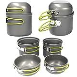 Outdoor Camping Picnic Cookware Cook Pot Bowl Set