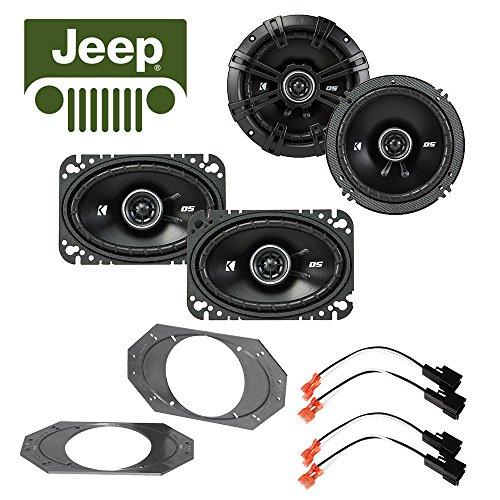 Fits Jeep Wrangler 1997-2006 Factory Speaker Kicker 4